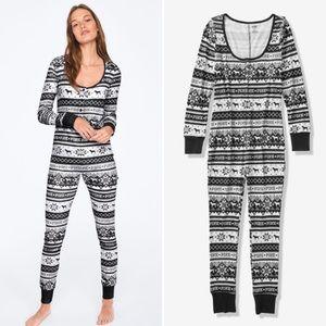 NIP PINK Victoria's Secret Sleep One Piece Pajamas